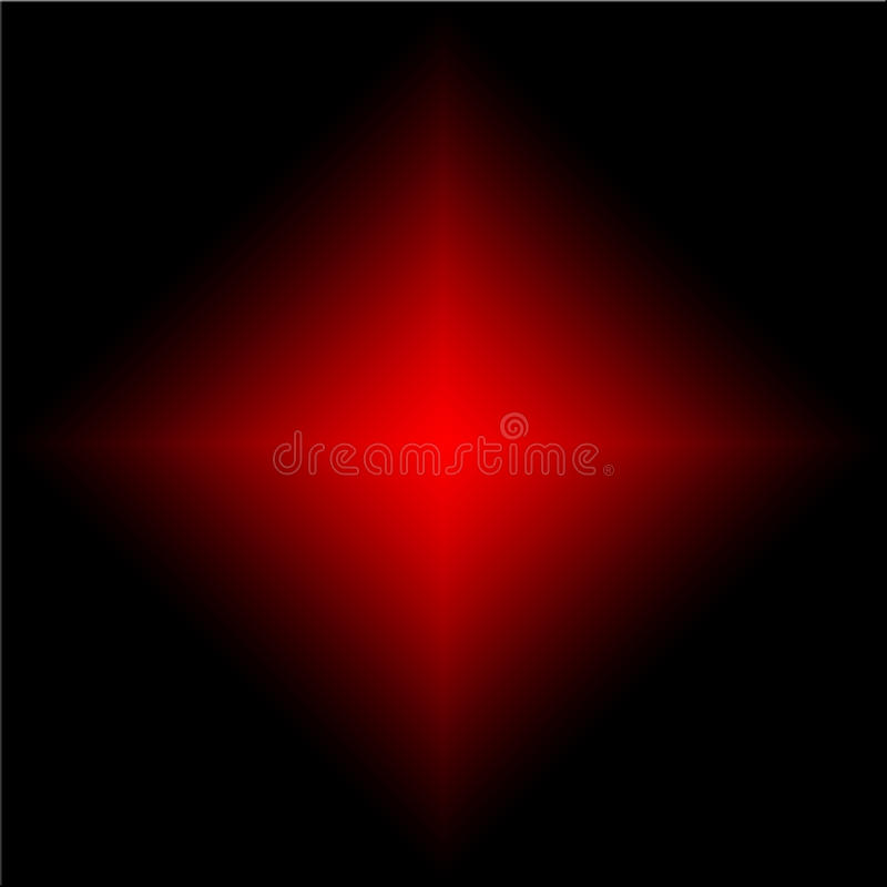 red stars rays mixed on black royalty free stock photo