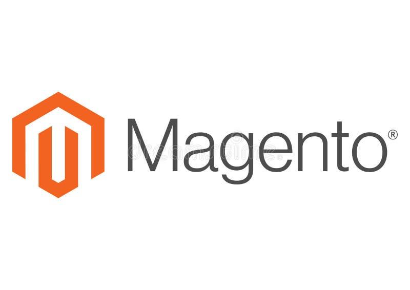Magento-Logo lizenzfreie abbildung