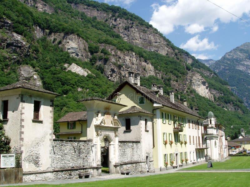 maggia Швейцария valle cevio стоковые фото
