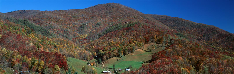 Maggie Valley, großer Smokey National Park, North Carolina stockfotografie
