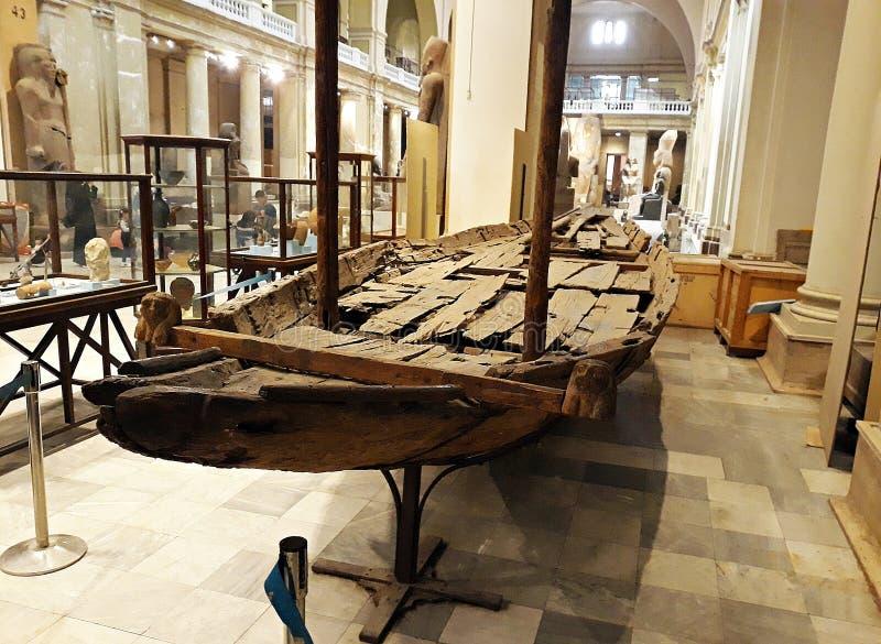 Maggio, 4, 2019, museo egiziano, Il Cairo, Egitto, Africa fotografie stock