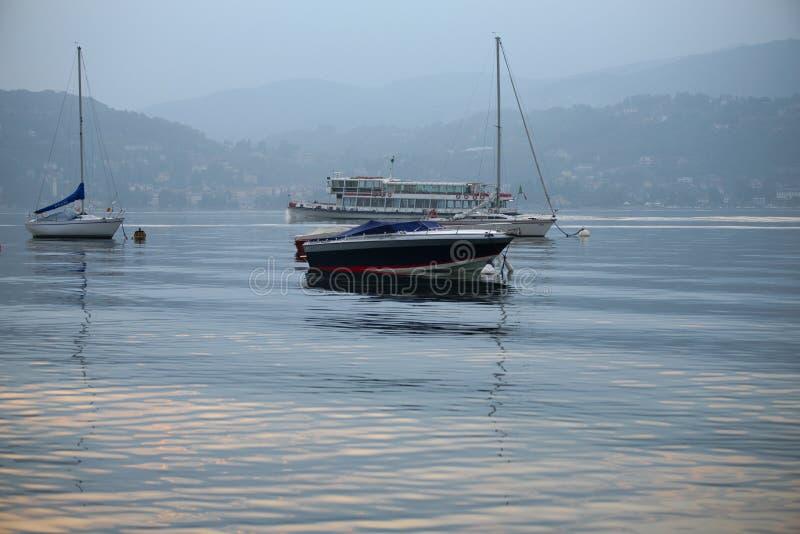 maggiore озера Италии стоковые изображения rf