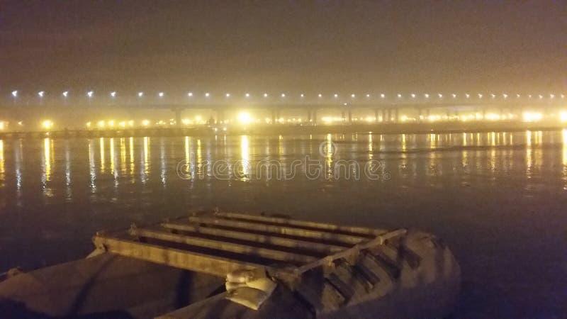 Magh Mela w Allahabad obraz royalty free