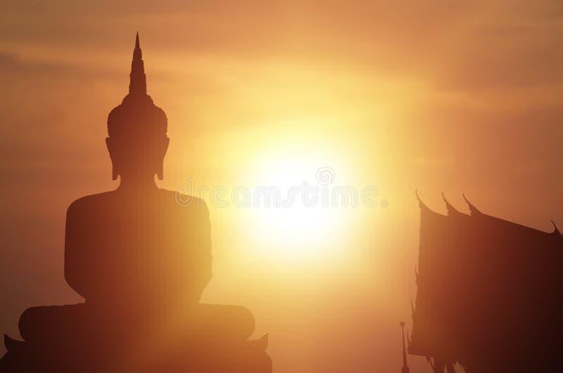 Magha Asanha Visakha Puja Day image libre de droits