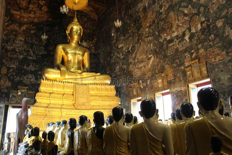 Magha Puja Representation fotografia de stock royalty free