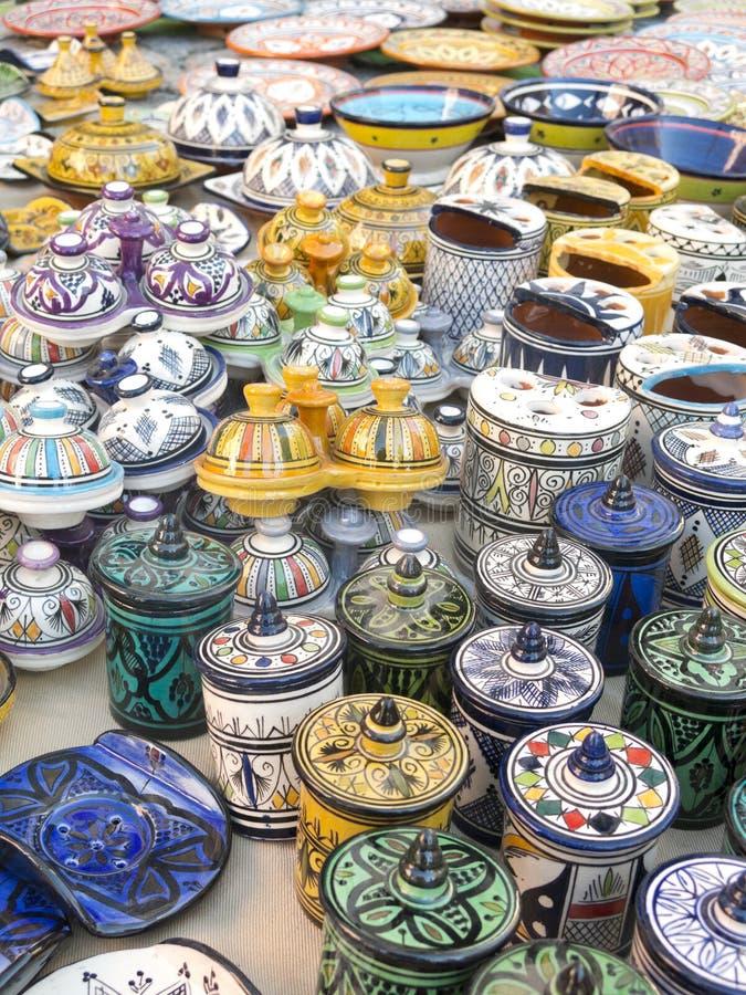 Maghreb cerâmico foto de stock royalty free