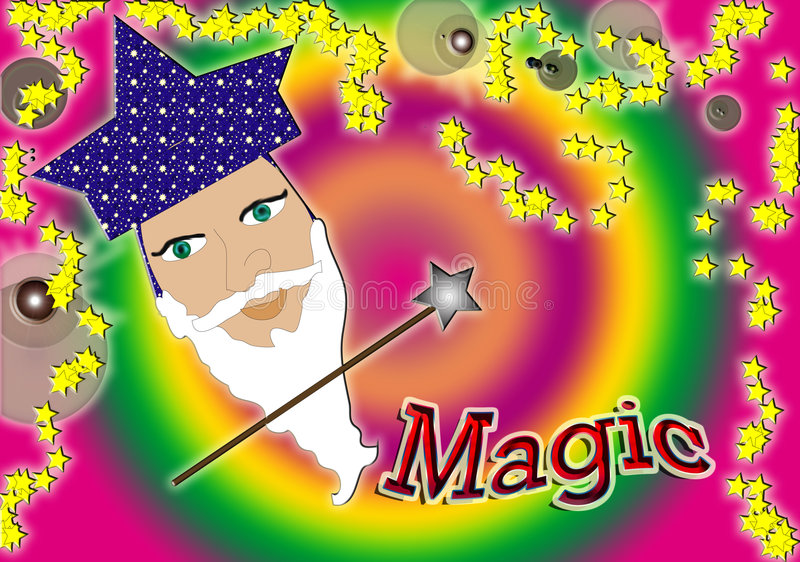 Magia royalty free stock image