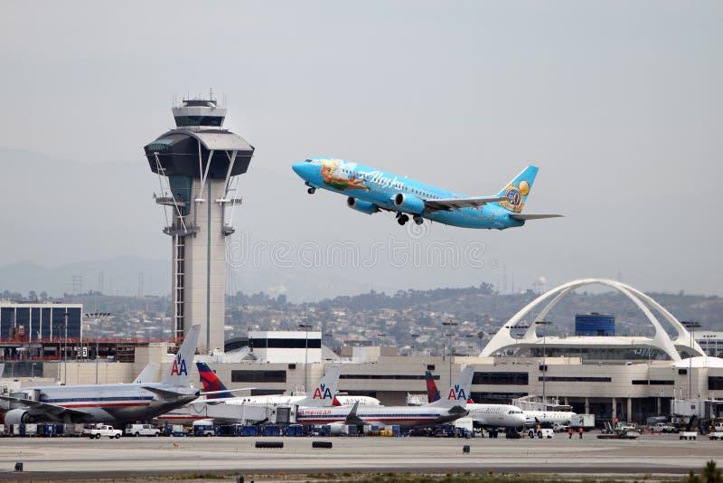 Magia de Disneylandya Boeing 737-400 foto de archivo