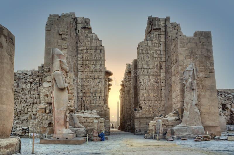 Magia de Karnak fotos de archivo libres de regalías