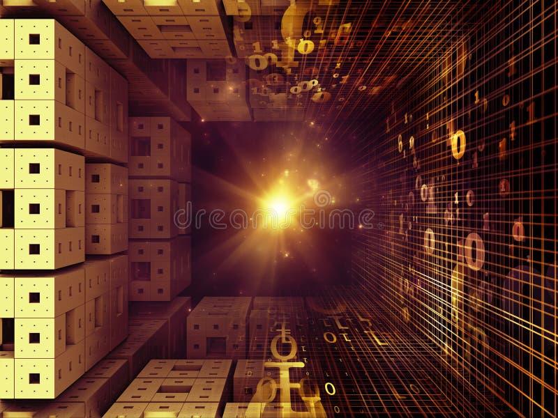 Magia de los reinos del fractal libre illustration
