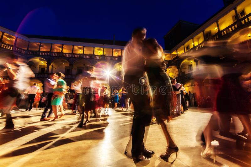 Magia del Tango 01 royalty free stock photography