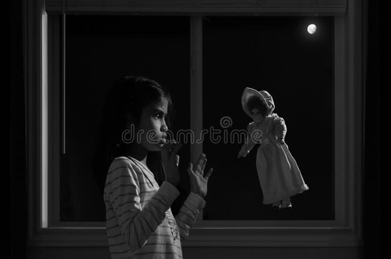 Magia della luna fotografie stock libere da diritti