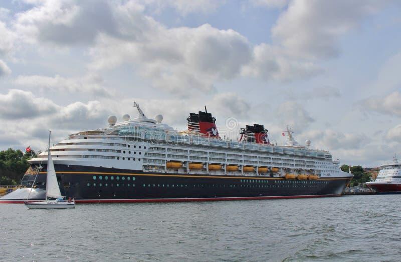 Magia di Disney a Stoccolma fotografie stock libere da diritti
