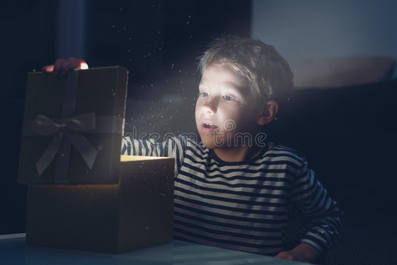 Magia di festa di Natale immagine stock