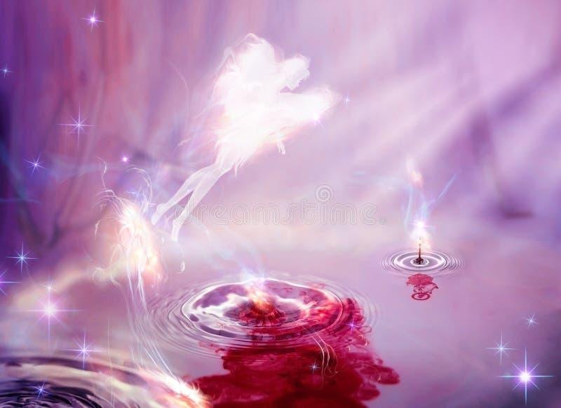 Magic appearance of fairy