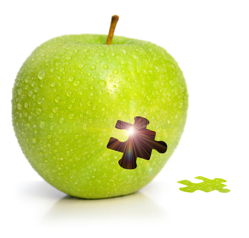 Download Magic apple stock photo. Image of fruit, component, magic - 7479246