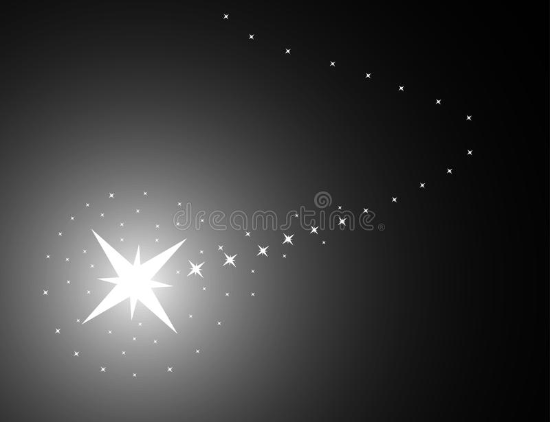 Magic background with star royalty free stock photos