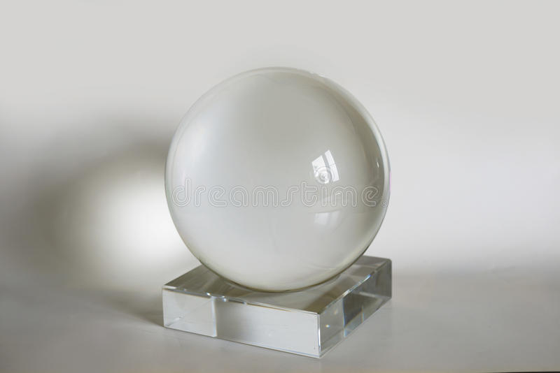 Magic Ball. Magic sphere before work fortune-telling royalty free stock photography