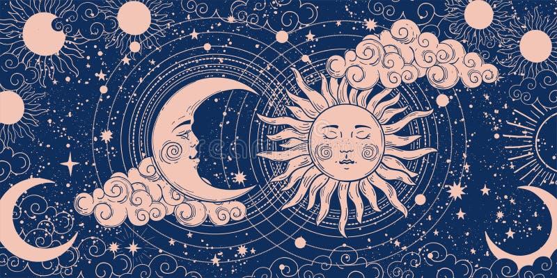 Astrology Banner Stock Vector Illustration Of Label 21407984