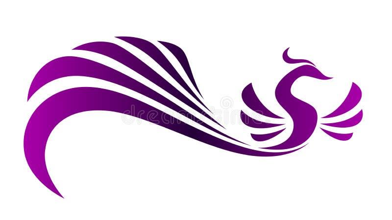 Magic bird stock illustration