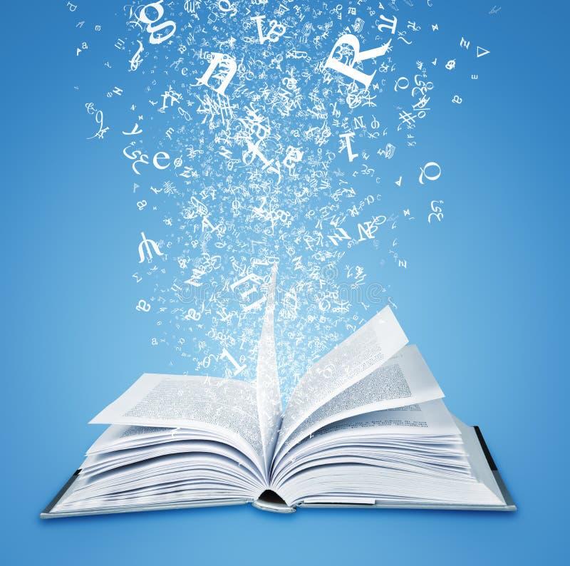 Magic book royalty free illustration