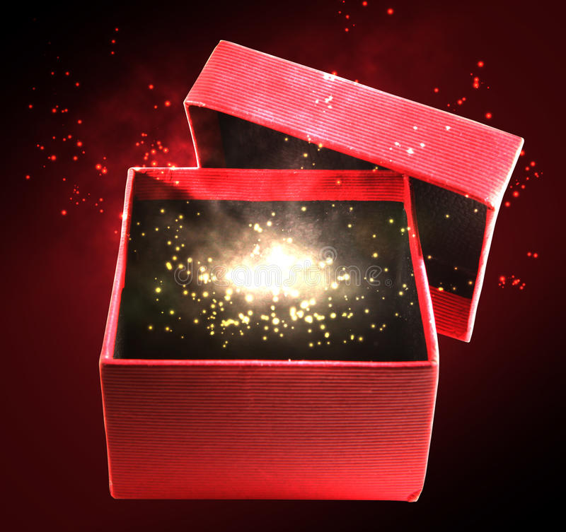 Download Magic box stock photo. Image of shining, container, fairy - 19769930