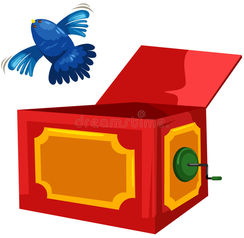 Download Magic box stock vector. Image of animal, isolated, performance - 22784098
