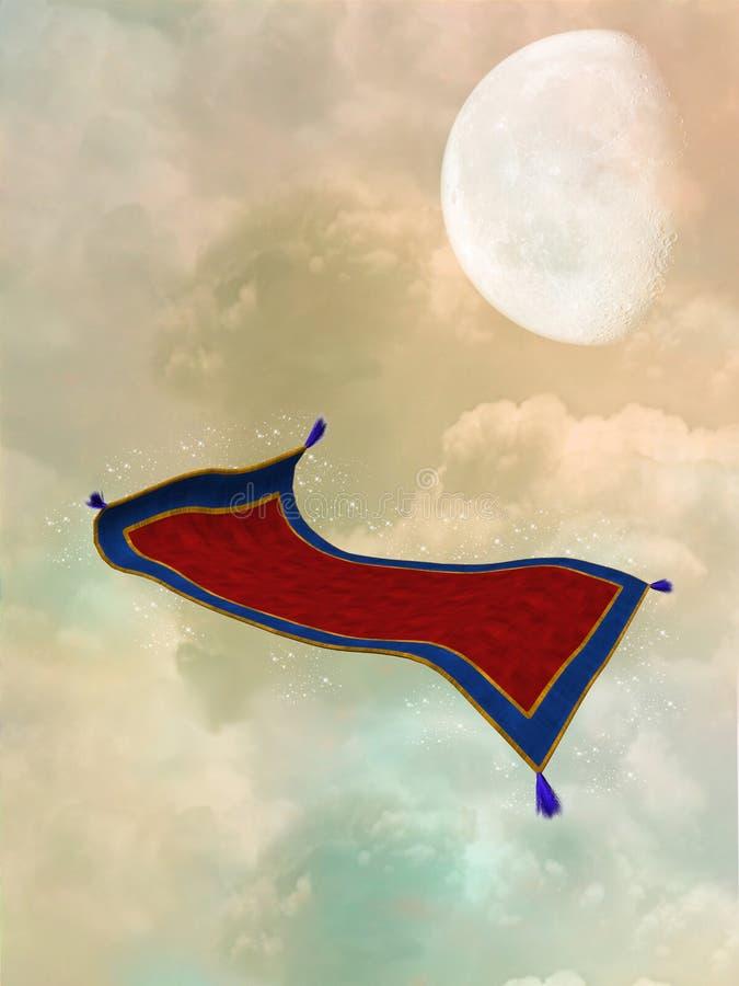 Magic carpet vector illustration