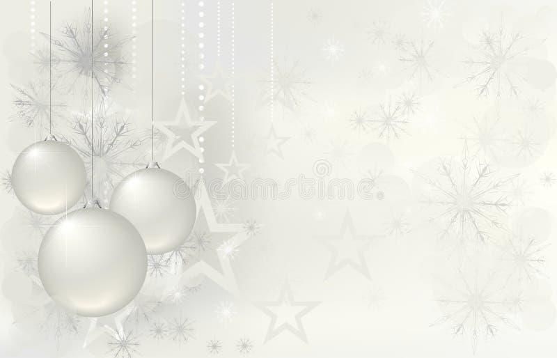 Magic christmas background with stars royalty free illustration