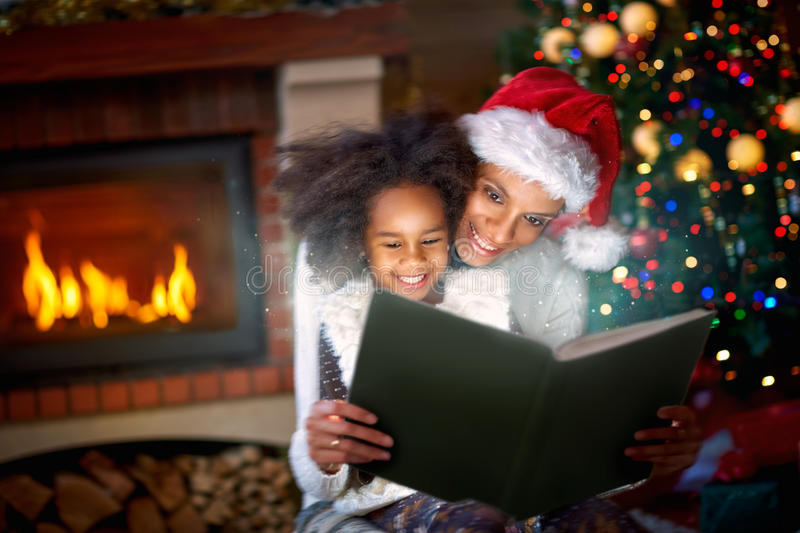Magic Christmas fairytales stock photos