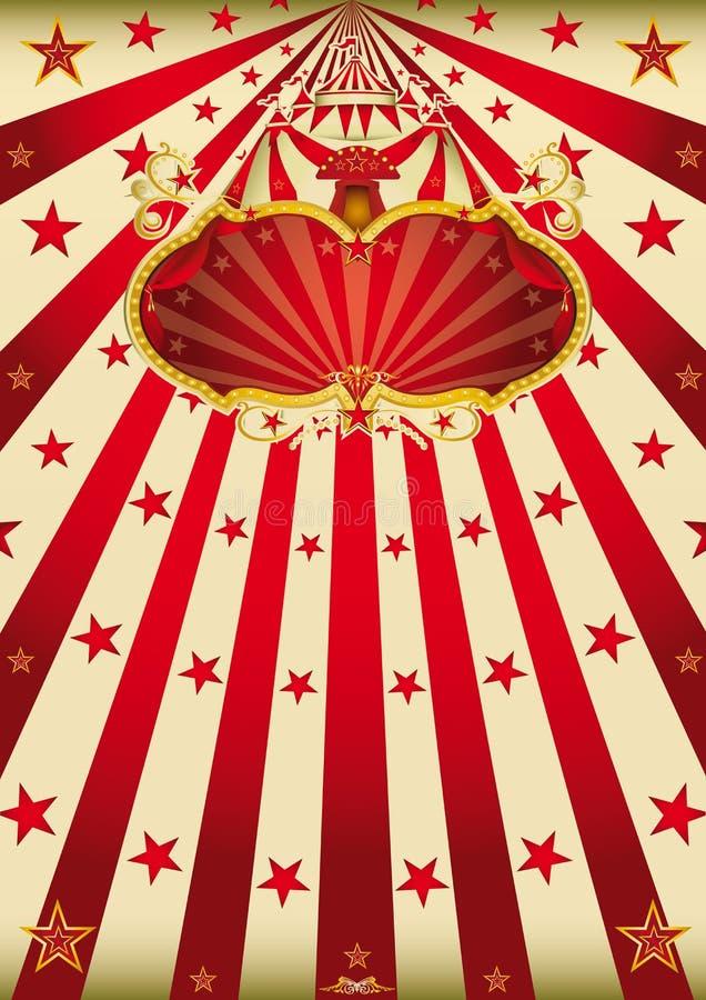 Magic circus paradise royalty free stock photography