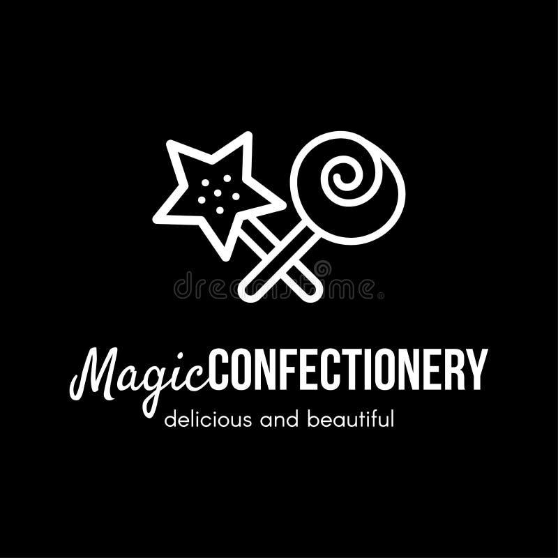 Confectionery Logo Stock Illustrations 6,830