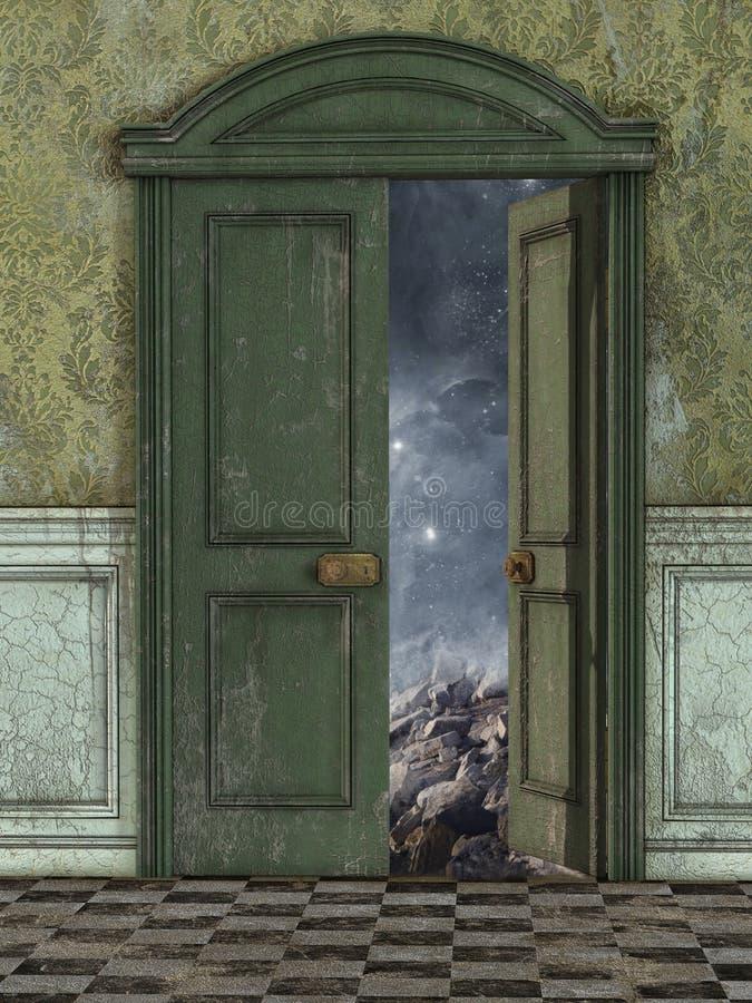 Download Magic Door Stock Illustration - Image 61944480 & Magic Door Stock Illustration - Image: 61944480 pezcame.com