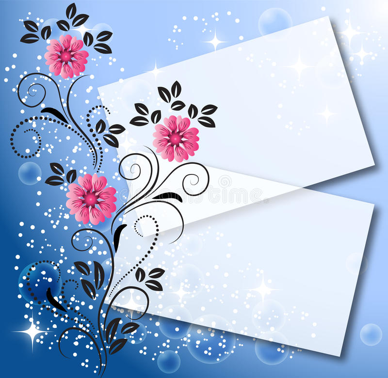 Download Magic floral background stock vector. Image of develop - 15656364