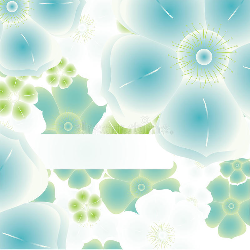 Free Magic Flower Background. Vector Royalty Free Stock Photo - 10090165