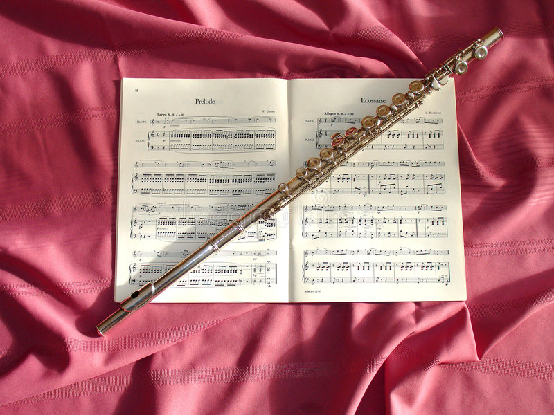 Download Magic Flute stock photo. Image of clothe, keys, music, pink - 436060