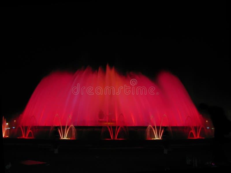 Magic fountain royalty free stock image