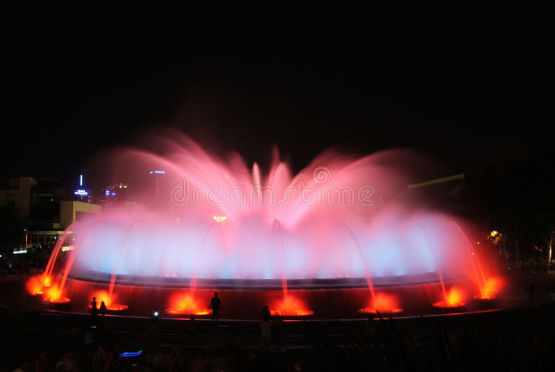 Download The Magic Fountain - Barcelona Editorial Photography - Image: 28727077
