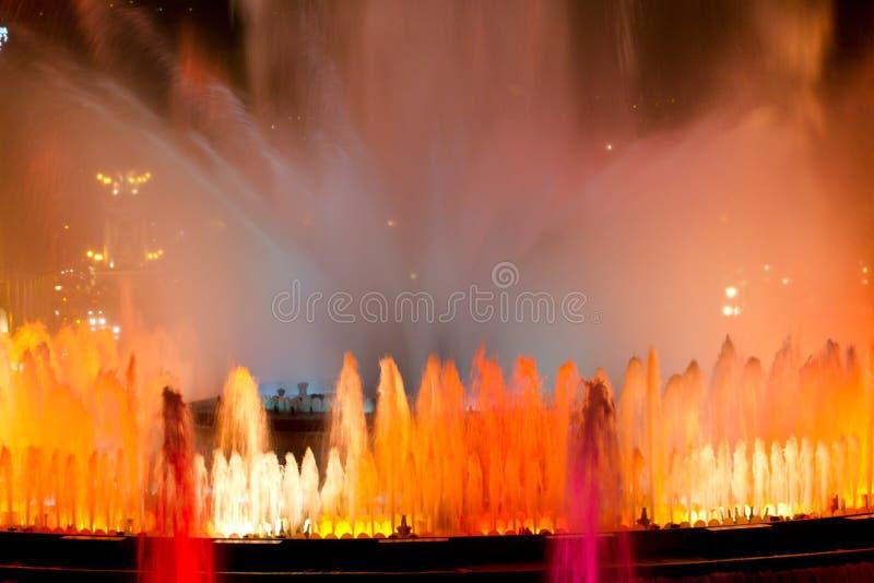 Download Magic Fountain Of Montjuic Royalty Free Stock Photos - Image: 20006858
