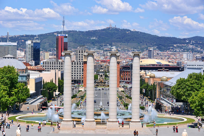 Barcelona Spain royalty free stock images