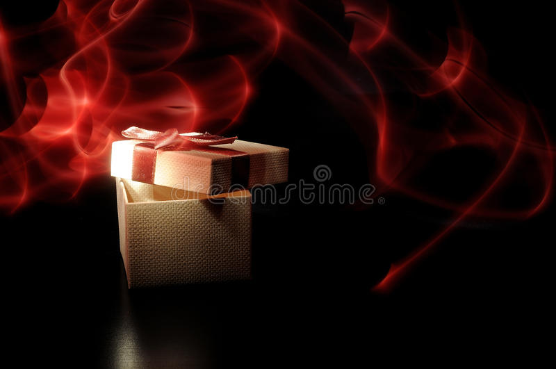 Download Magic gift stock photo. Image of celebration, package - 14234580