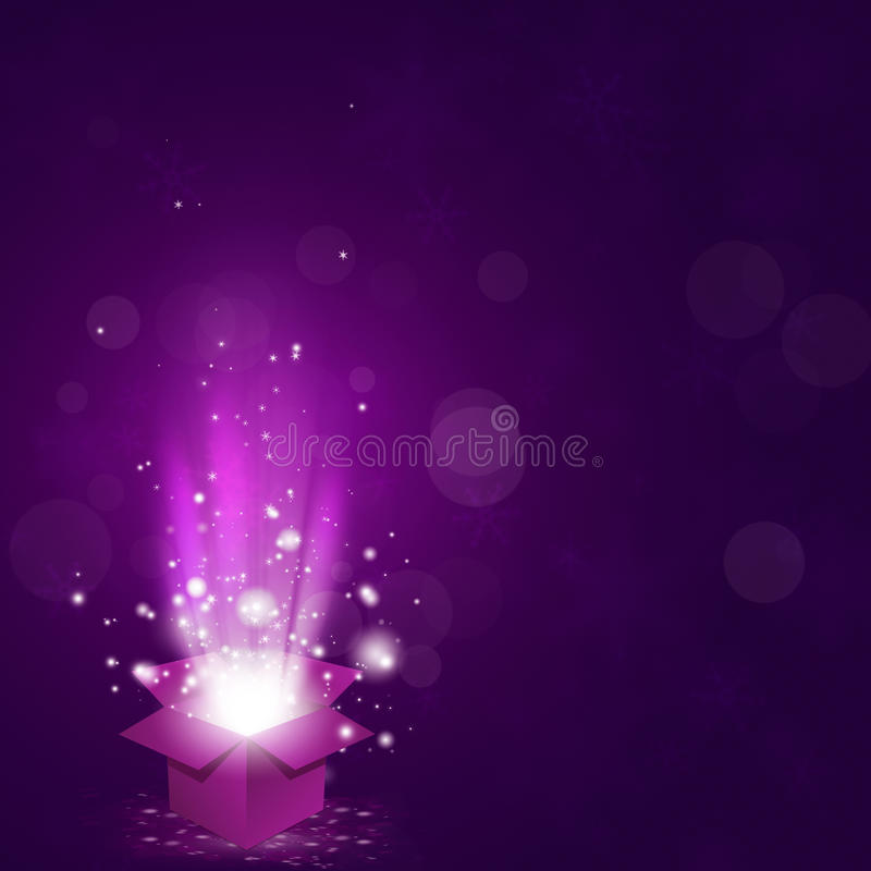 Download Magic Gift Box stock image. Image of holiday, background - 29572865
