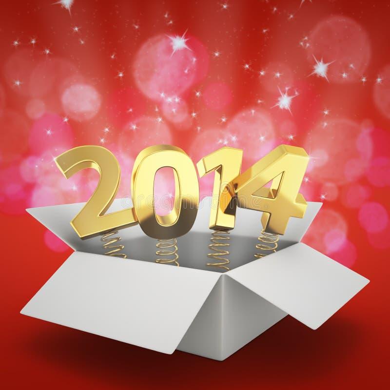 Magic 2014 stock illustration