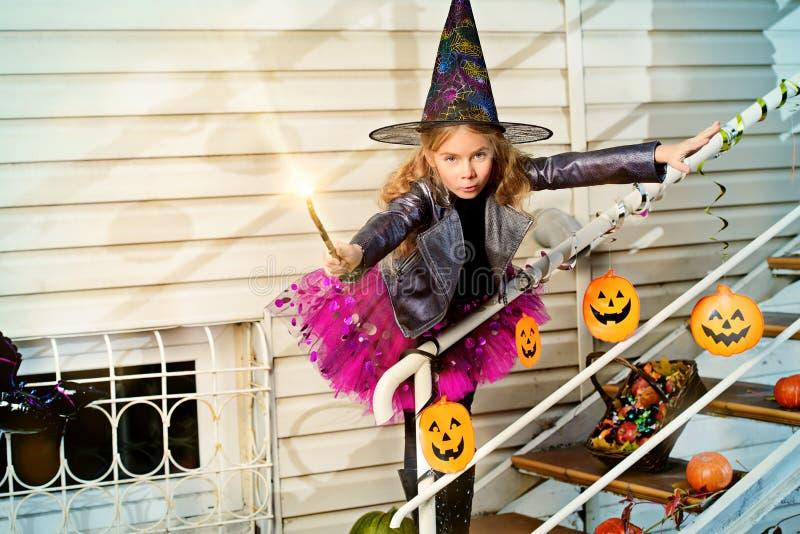 Magic girl stock images