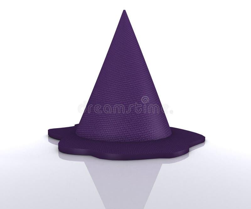 Magic Hat - 3D royalty free illustration