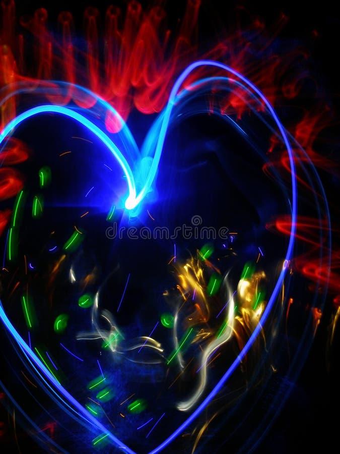 Magic heart royalty free stock photos