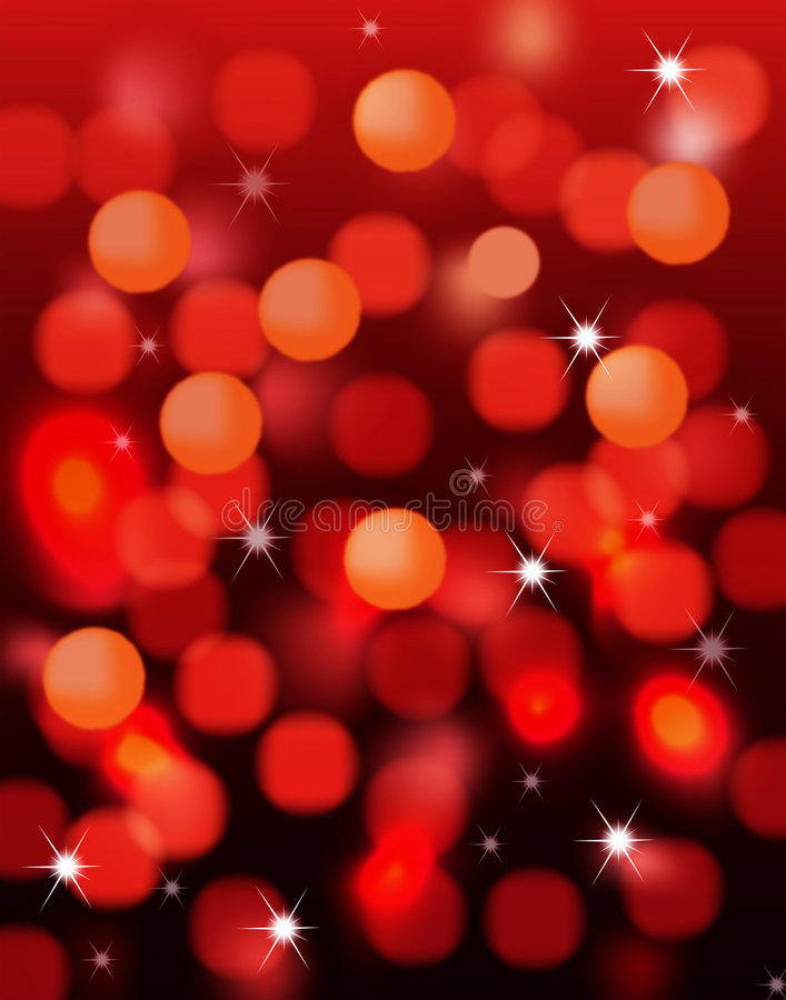 Magic Holiday Lights Stock Images