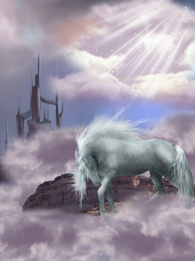 Magic Horse royalty free illustration