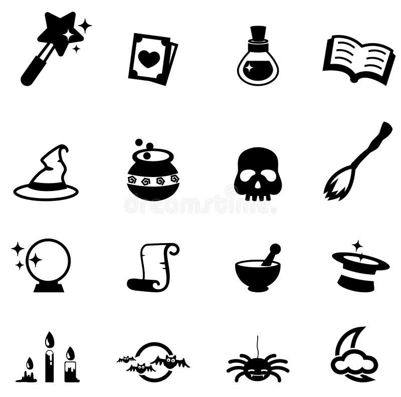 Magic icon. Illustration of magic icon vector stock illustration