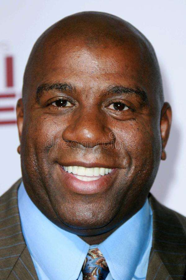 Download Magic Johnson, editorial stock photo. Image of married - 23832543
